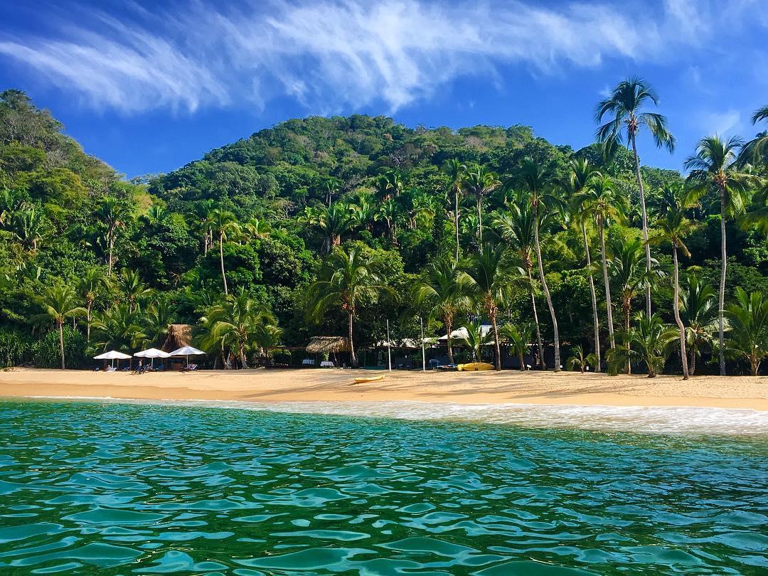 Playa Majahuitas, a 29 kilómetros de Puerto Vallarta.